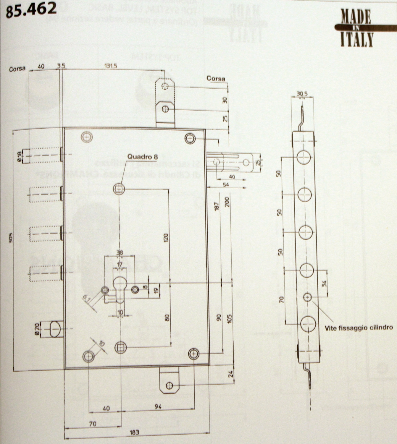 Mottura serrature cilindro europeo - vendita ottimi prezzi