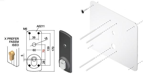 Defender per basculanti e serrature di sicurezza per garage for Defender serratura