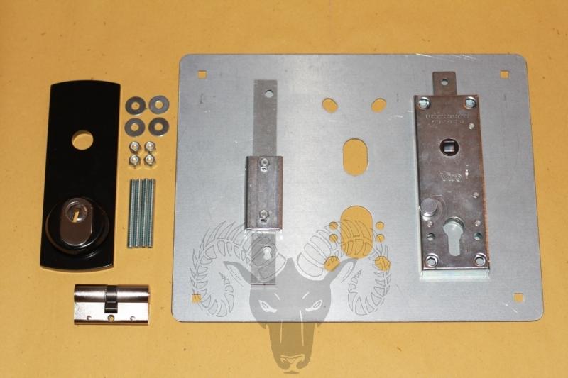 vendita-serrature-defender-basculanti-garage-kit-lastra-dritta