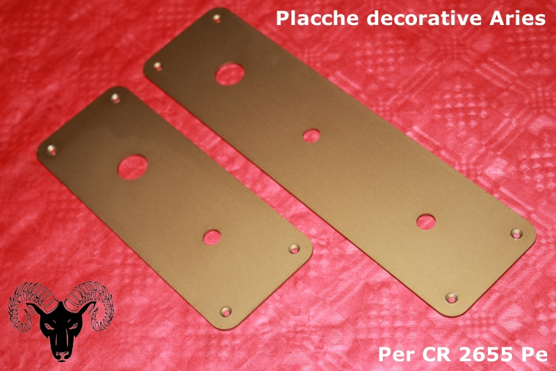 Placche e piastre su misura per serrature porte blindate for Placche decorative per interni
