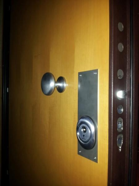 Vendita serrature porte blindate cisa con cilindro europeo for Porte blindate alias modello steel