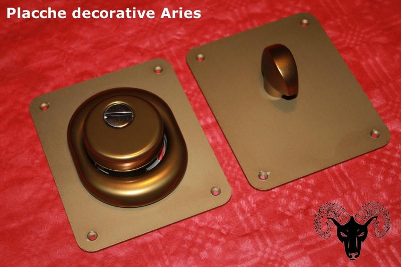 Placche decorative porte blindate defender anodizzate for Porte blindate alias modello steel