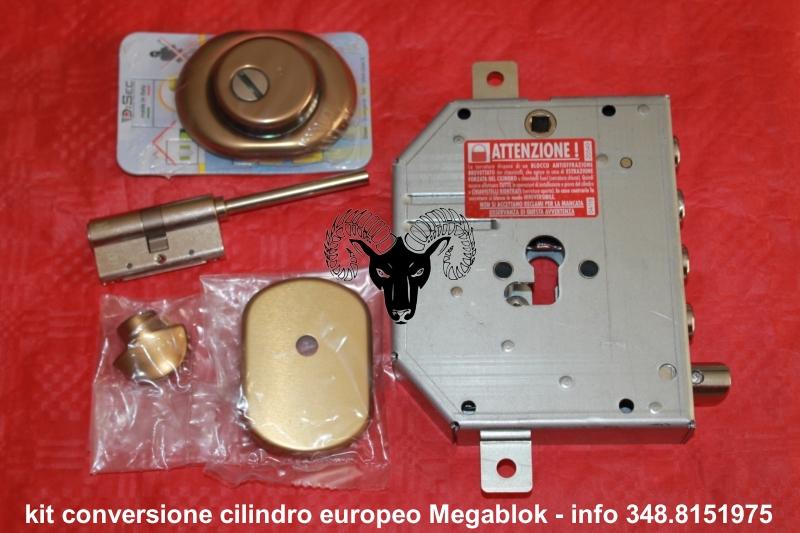 Serrature megablok porte blindate cilindro europeo iseo for Serratura mottura doppia mappa